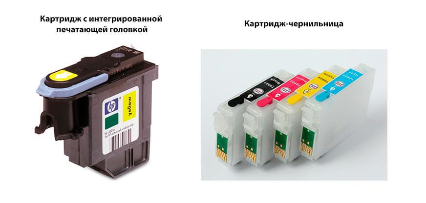Картридж с интегрированной печатающей головкой/Картридж-чернильница