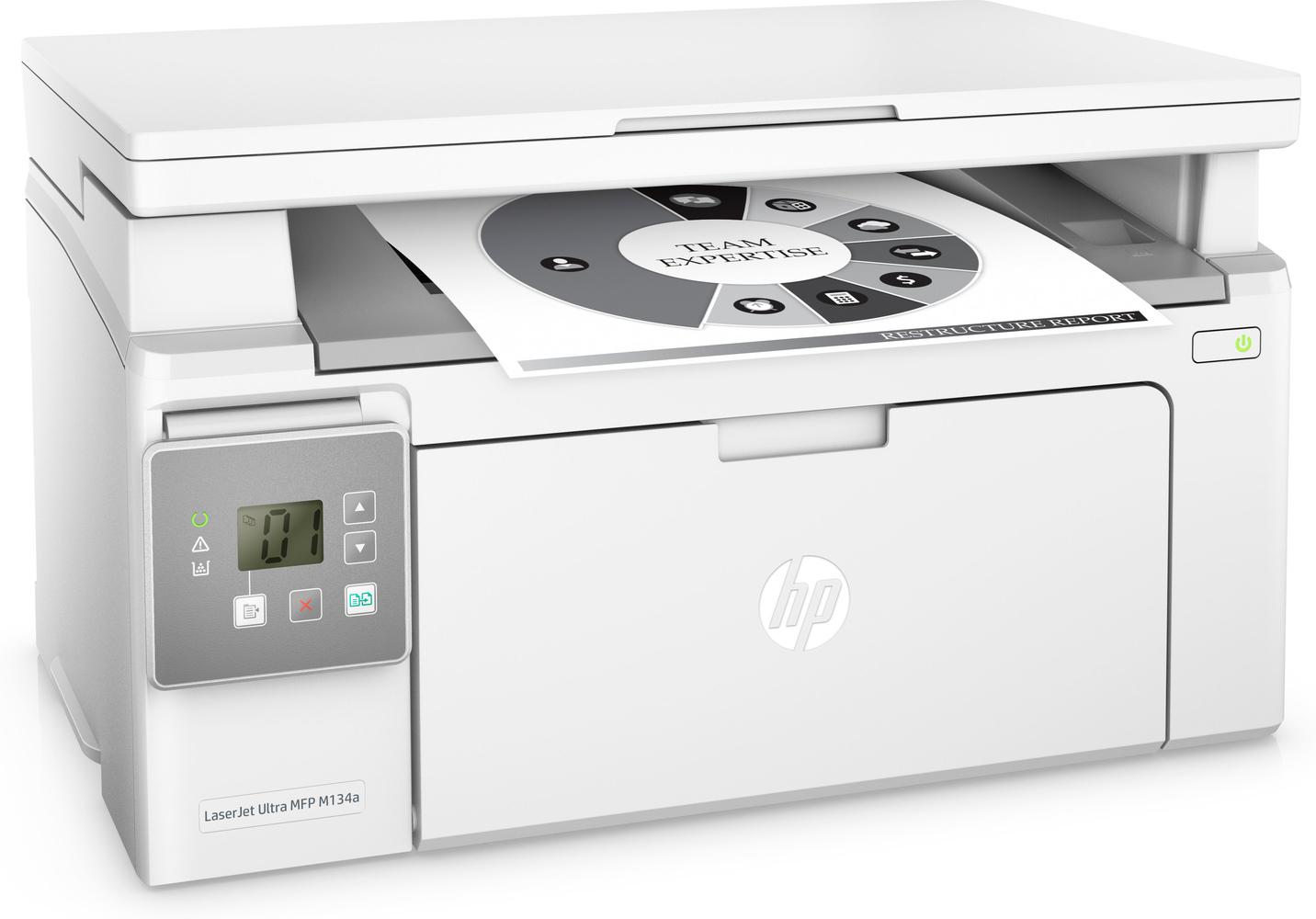 Заправка принтера HP-LaserJet-Ultra-M134a