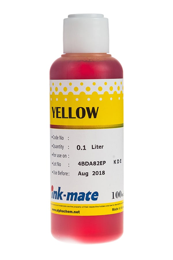 Чернила Ink Mate 100 мл. Yellow CIM810C