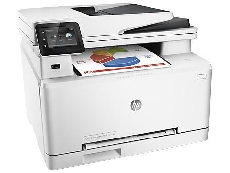 Заправка принтера HP-Color-LaserJet-M277dw
