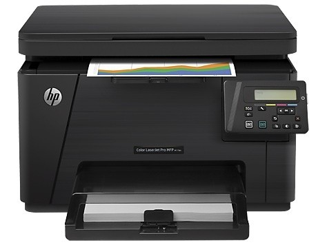 Заправка принтера HP-Color-MFP-M176n