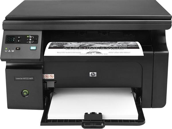 Заправка принтера HP-LaserJet-M1132-MFP