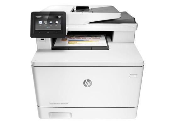 Заправка принтера HP-LaserJet-MFP-M477fdn