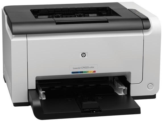 Заправка принтера HP-LaserJet-Pro-CP1025