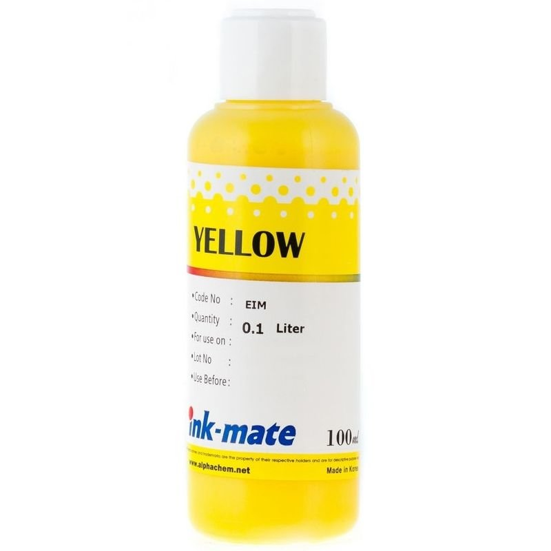 Чернила Ink Mate 100 мл. Yellow EIM100C