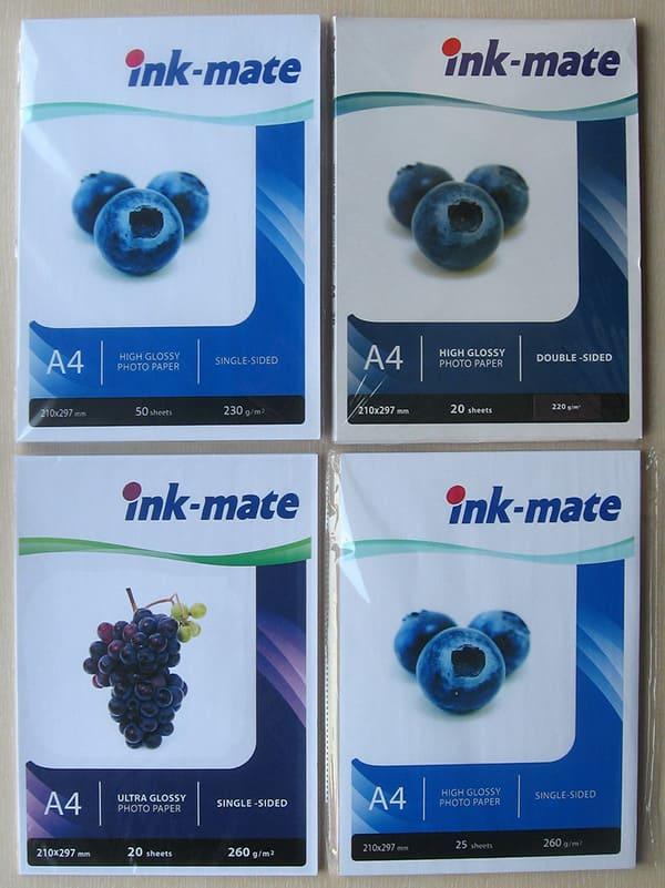 Фотобумага Ink Mate 50л. Матовая 170г/м А4