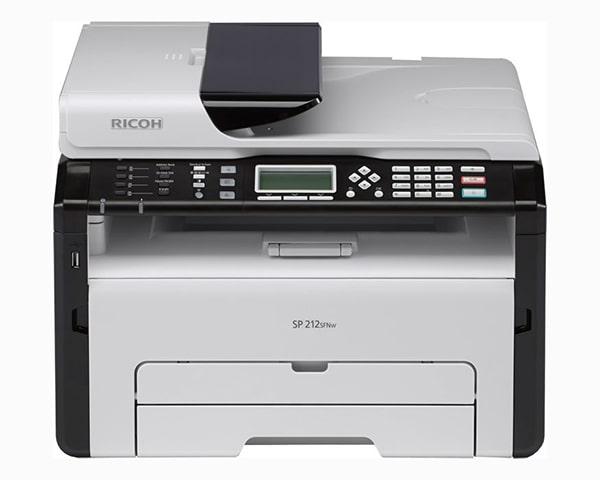 Заправка принтера Ricoh-SP-212SFNw