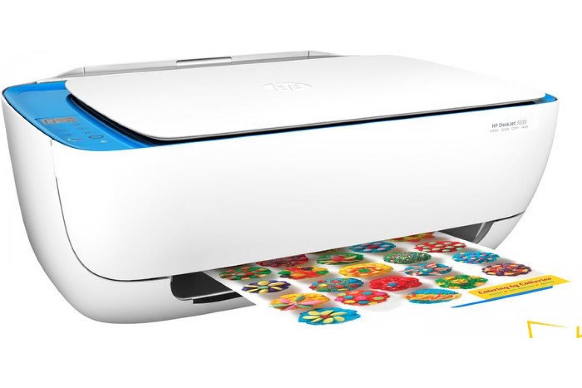 Заправка картриджа HP DeskJet 3639
